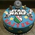 Torcik dla syna prezesa Legii #star #wars #gwiezdne #wojny #luke #legia #tort #okazjonalny #tort #urodzinowy #statek #gwiazda #torty