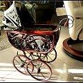 retro wózek dla lalek-jeżdżący