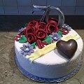 Urodzinowy #urodziny #tort #urodzinowy #siedemdziesiątka #tort #okazjonalny #tort #torty