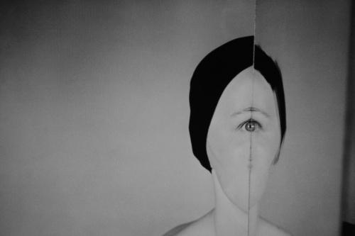 """jedna z fotografii Zdzisława Beksińskiego - wystawa """"Beksiński nieznany"""""""