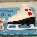 tort but łużwiarski #łyżwy #tort #sportowy #tort #okazjonalny #tort #torty