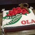 Torcik na 18 dla Oli #konwalie #tort #urodzinowy #tort na #osiemnastkę #osiemnastka #torty #okazjonalne #tort #dla #dziwewczyny