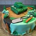 Czołg na komunię #tort na #komunię #tort #komunijny #tort #okolicznosciowy #troty #artystyczne #czoł #tort z #czołgiem