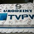 9 urodziny TVPW #TVPW #TELEWIZJA #INTERNETOWA #torty #okazjonalne #torty #firmowe