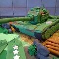 czołg #czołg #tort z #czołgiem #tort #okolicznościowy #tort #wojwnny