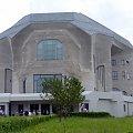 """Goetheanum--momumentalna budowla """"Siedziby Towarzystwa Antropozoficznego"""" w Dornach k. BazyleiNazwa nawiazuje do postaci Fausta Goethego"""