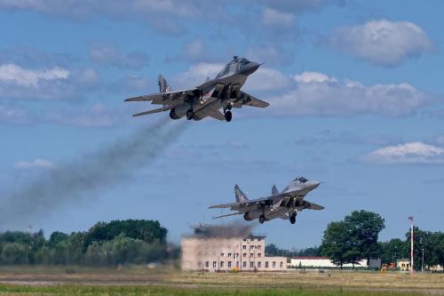 Mikoyan Gurevich MiG-29 GT, Poland - Air Force