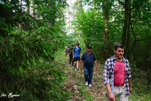 """Ścieżka fortyfikacyjna ,,Szczycieńskiej Pozycji Leśnej"""""""