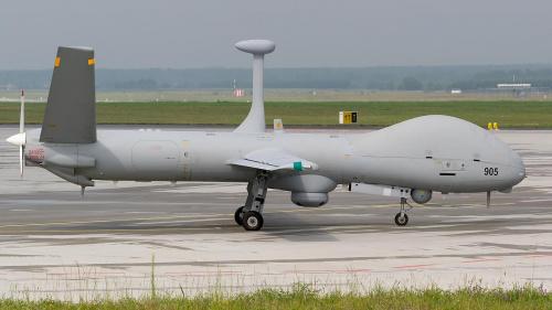 ELBIT SYSTEMS HERMES 900,, izraelski bezzałogowy aparat latający