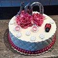 40 Dla Pani #urodziny #tort #okazjonalny #torty #tort #czerdziestka #biedronka #tort #dla #Pani