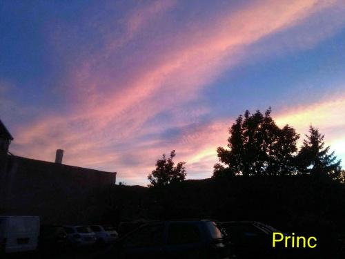 Zachód słońca w Nadrenii