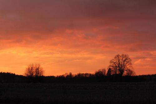 Teraz Was będę męczyć zachodem słońca:)