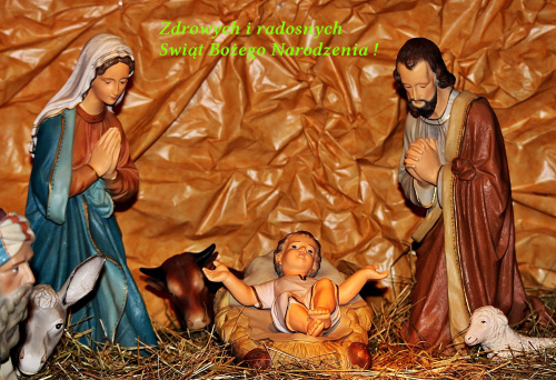 Spokojnych, radosnych Świąt ... Świąt pachnących choinką, piernikami i pomarańczami ... Świąt otulonych białym puchem, pełnych ciepła i nadziei ... Świąt wypełnionych radością i uśmiechem ...
