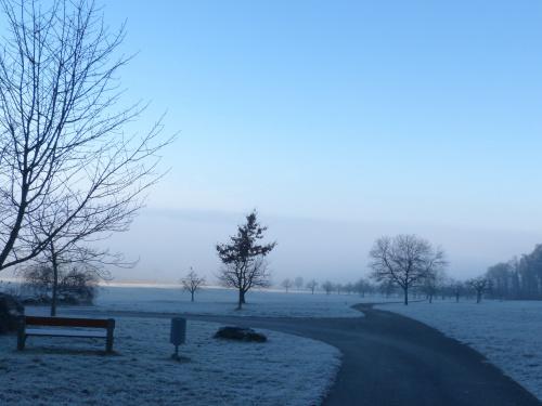 rozstaje i mgła