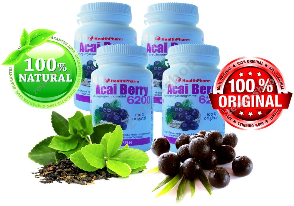 240 kapseln brazilian acai berry 84000 mg gr ne tee. Black Bedroom Furniture Sets. Home Design Ideas